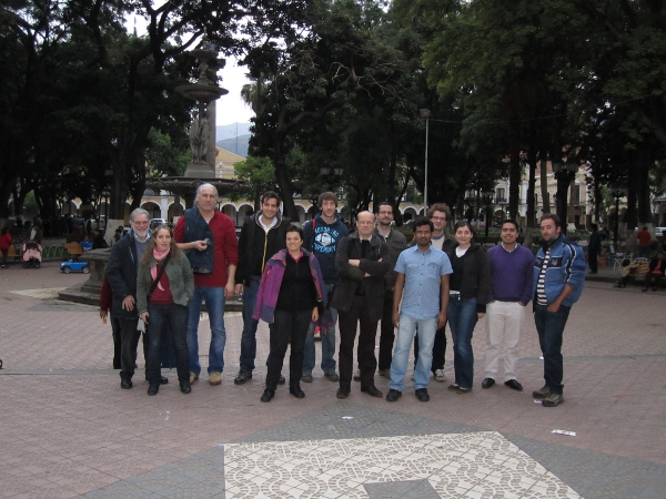 Some of the VALORAM group in Bolivia (c)VALORAM