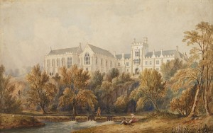 View of the Quad by Robert Lowe Stopford