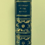 Spine of The Children of the Abbey by Regina Maria Roche