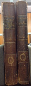 Spines of The Orphan of the Rhine Vols. 1 & 2