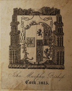 Bookplate of Bishop John Murphy
