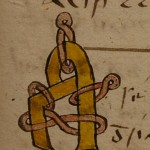 Decorated initial, Ms. 97