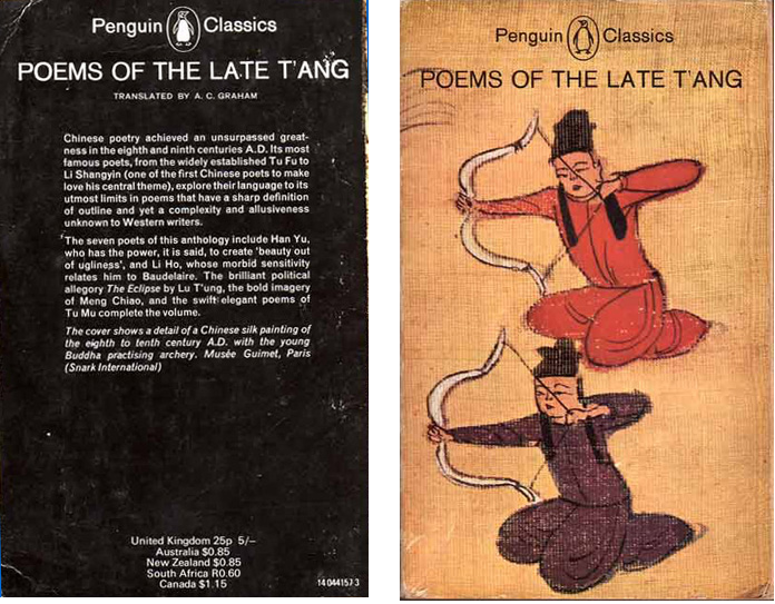 Poems of the Late Tang
