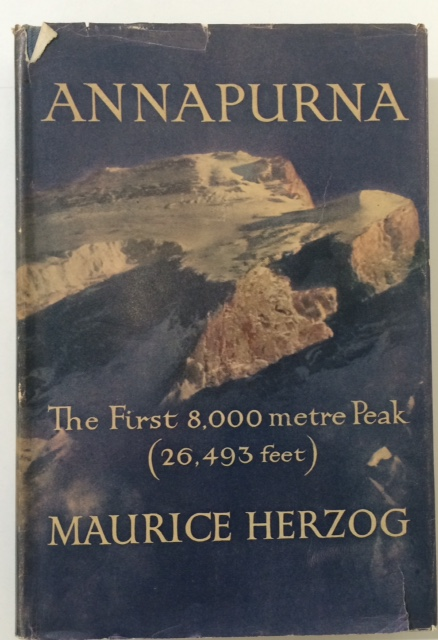 Cover to Annapurna