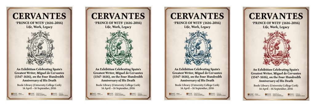 Versions of the Exhibition Poster