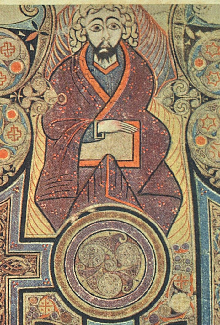 The Book Of Kells Image And Text The In Principio Initial The