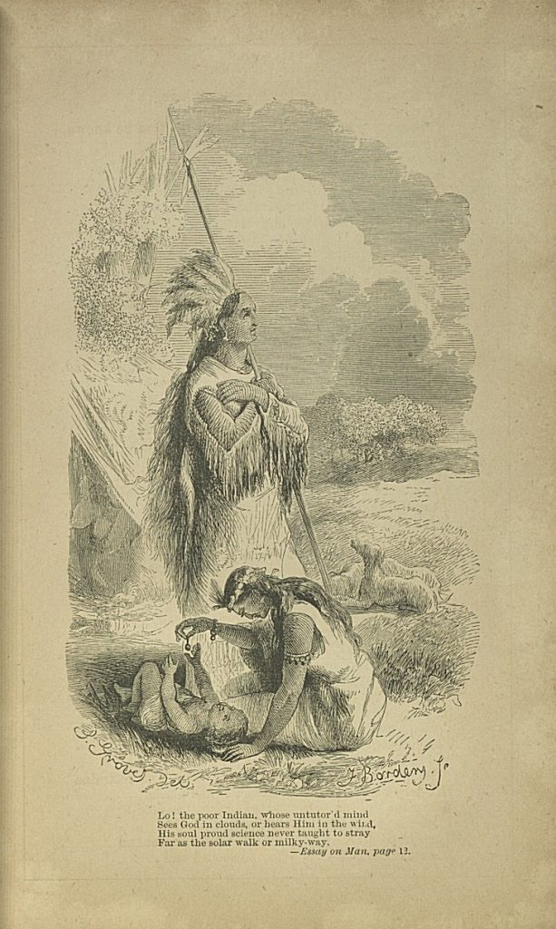 Image accompanying excerpt from 'An Essay on Man'.