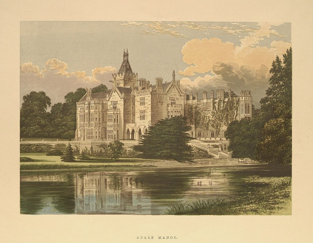 Topographical Prints: Adare Manor