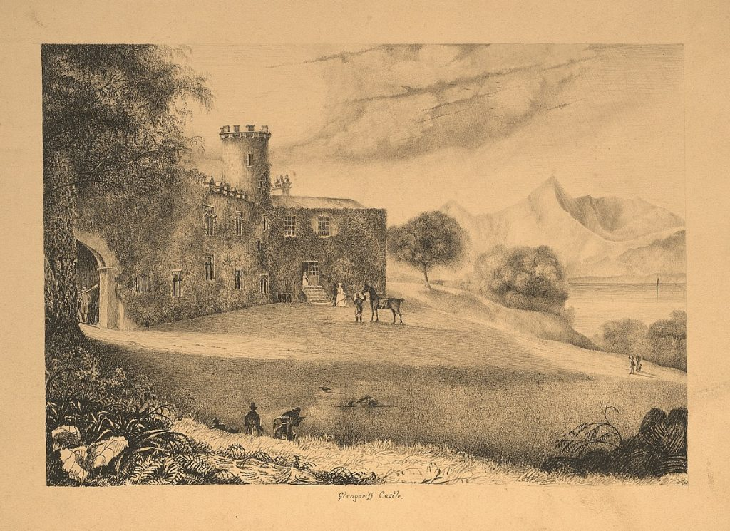 Topographical Prints: Glengariff Castle