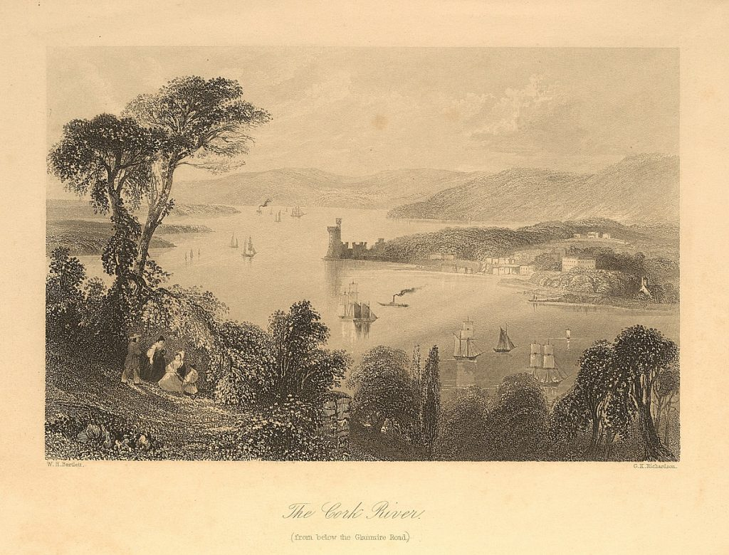 Topographical Prints: The Cork River (from below the Glanmire Road)