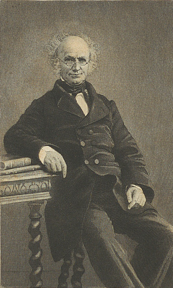 Rev. F. Mahony ('Father Prout') from The final reliques of Father Prout.
