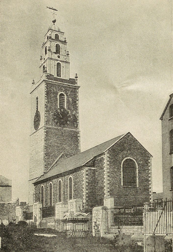 """Francis Sylvester Mahony. """"Father Prout."""" (From a Photograph.) from The bells of Shandon : with the annals of the Church of St Anne Shandon, Cork."""