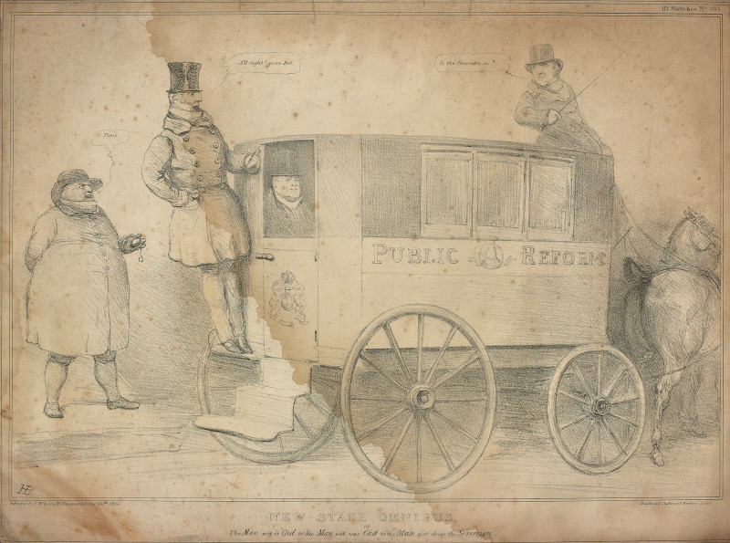 BL/CV/PolP/DOC/4 New State Omnibus, or The Man wot is Cad to the Man wot was Cad to the Man wot drove the Sovereign (24 December 1834)