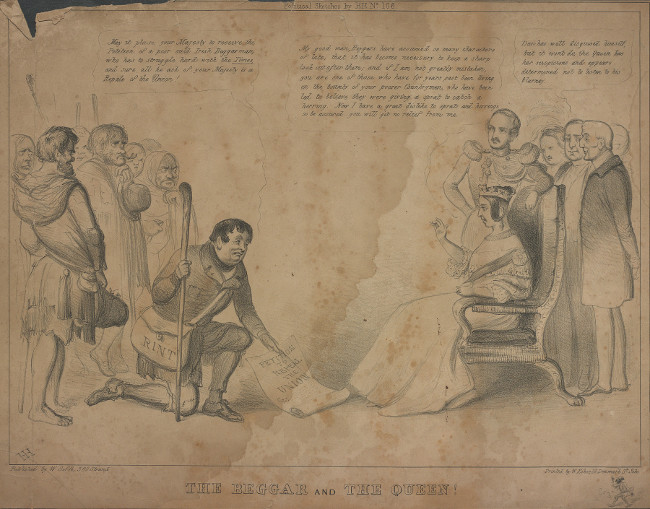 BL/CV/PolP/DOC/7 The Beggar and The Queen (c. 1844)